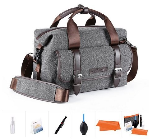 K&F Concept Kameratasche inkl. 5in1 Reinigungsset für 29,99€ inkl. VSK
