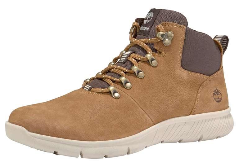 Timberland Boltero Leather Hiker Sneaker (schwarz, braun) für 69,99€ inkl. Versand (statt 126€)