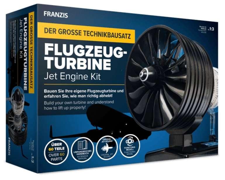 Franzis Flugzeugturbine - Der große Technikbausatz (funktionstüchtiges Modell mit über 60 Teilen) für 44,95€ - Newsletter!
