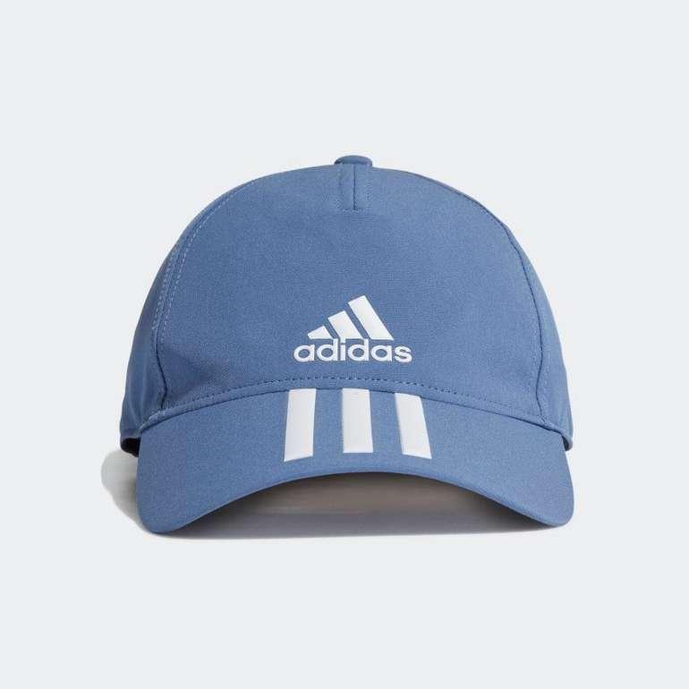 Adidas Aeroready 3-Streifen Baseballkappe in Hellblau für 12,60€ inkl. Versand (statt 19€) - Creators Club