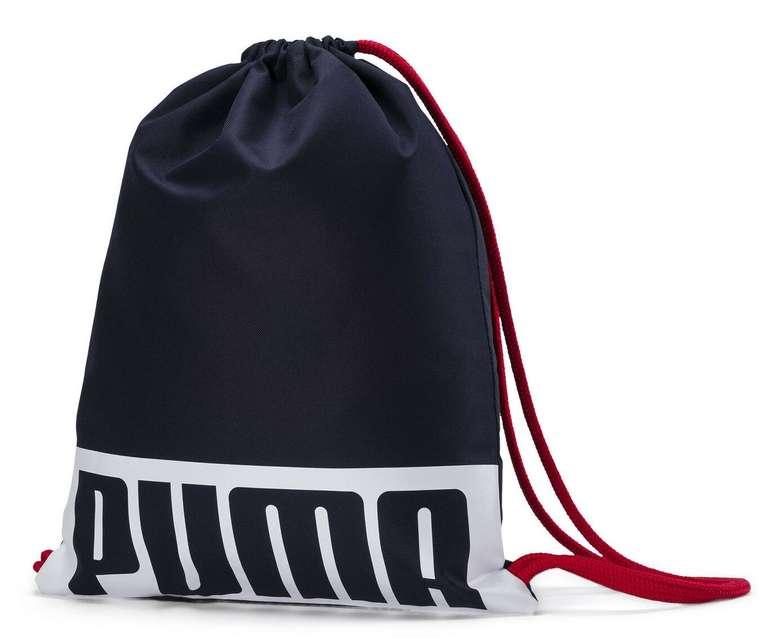 """Puma Turnbeutel """"Deck"""" in zwei Farben für je 7,65€ inkl. Versand (statt 9€)"""