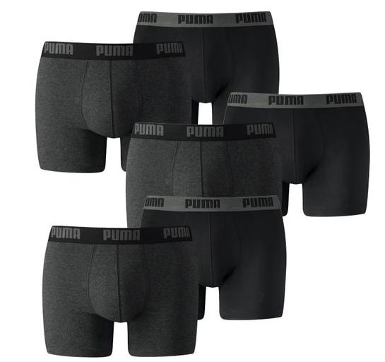 6er Pack Puma Basic Boxershorts für 32,99€ inkl. Versand (statt 40€)