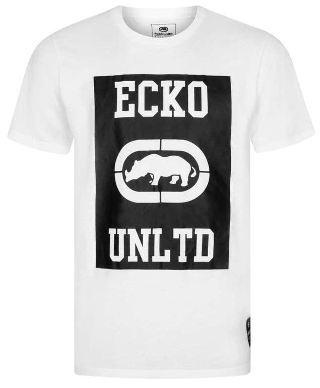 Ecko Unltd mit bis zu -52% Rabatt im Sale - z.B. T-Shirts für 3,33€ (statt 35€)