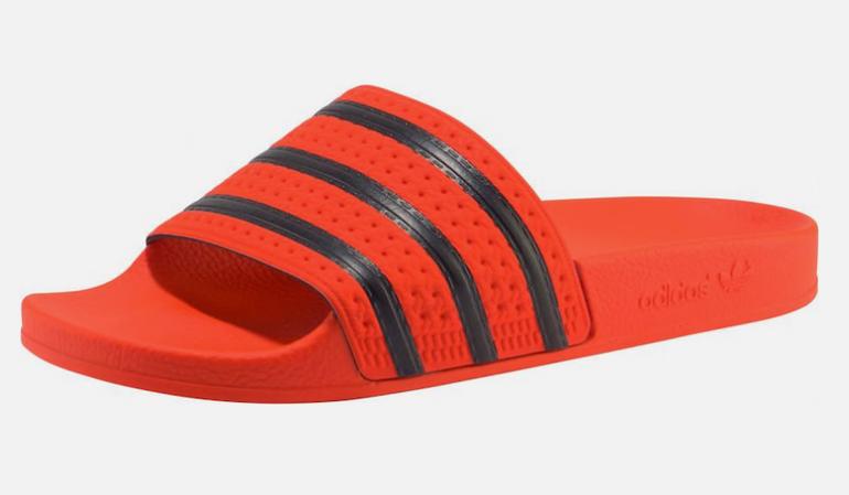 "Adidas Originals Pantolette ""Adilette"" in orange für 20,32€ (statt 29€)"