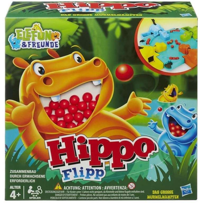 Hasbro: Hippo Flipp (98936) für 13,42€ inkl. Prime Versand (statt 38€)