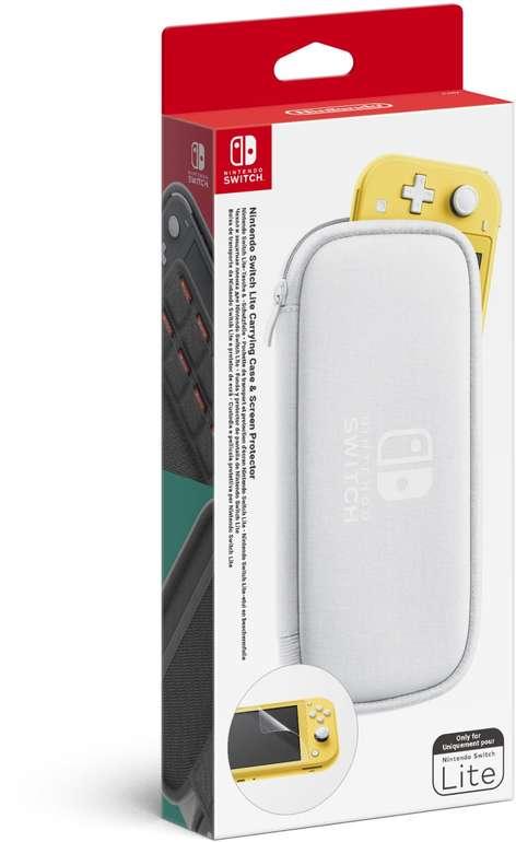 Nintendo Switch Lite Tasche & -Schutzfolie für 12,99€ (statt 19€)