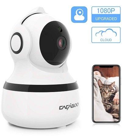 Cacagoo 1080P WLAN IP Überwachungskamera für 21,99€ inkl. VSK
