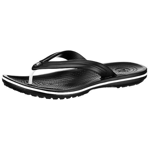 Crocs Crocband Flip Zehentrenner in schwarz für 14,39€ inkl. Versand (statt 18€)