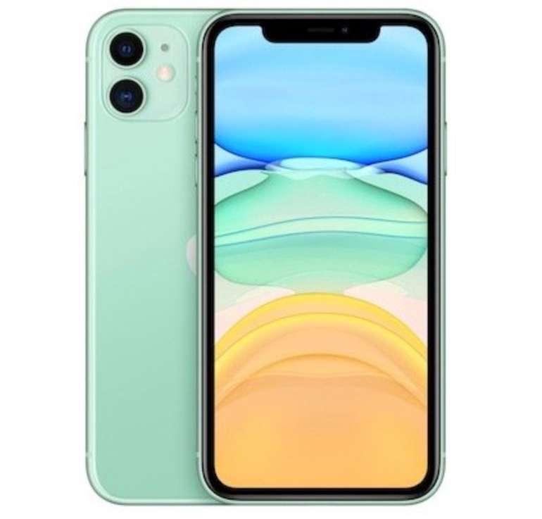 Apple iPhone 11 mit 128GB Speicher in grün (MWM62ZD/A) für 753,12€ (Vergleich: 813€) + 140€ Superpunkte