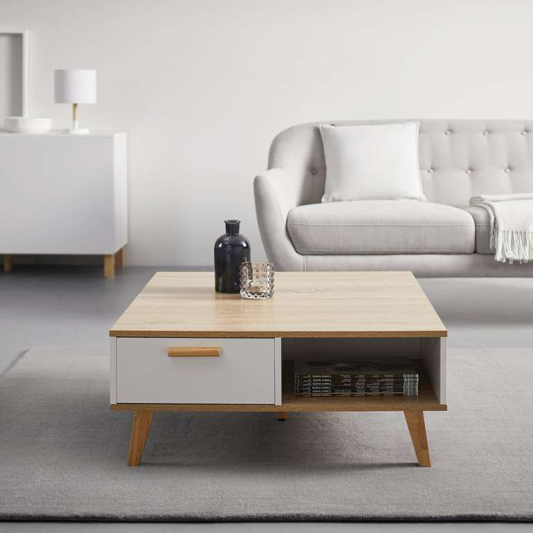 Bessagi Home Couchtisch Claire (ca. 79 x 83cm) für 61,25€ inkl. Versand (statt 85€)