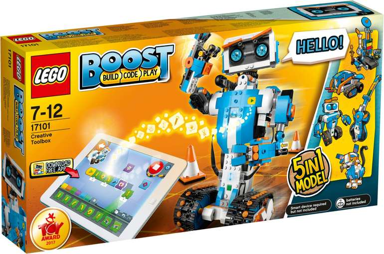 Lego Boost - Creative Toolbox 17101 (Programmierbares Roboticset) für 95,14€