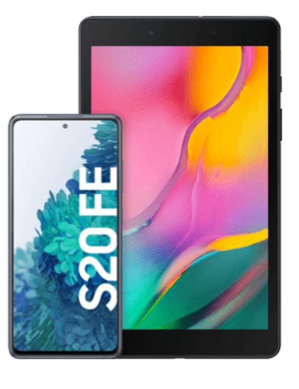 Samsung Galaxy S20 FE + Tablet mit O2 Free M Boost mit 40 GB für 36,99€ mtl.