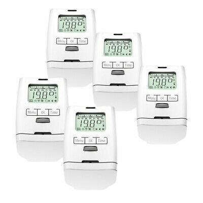 5er Set HT 2000 elektronische Heizkörperthermostate für 59,99€ (statt 70€)