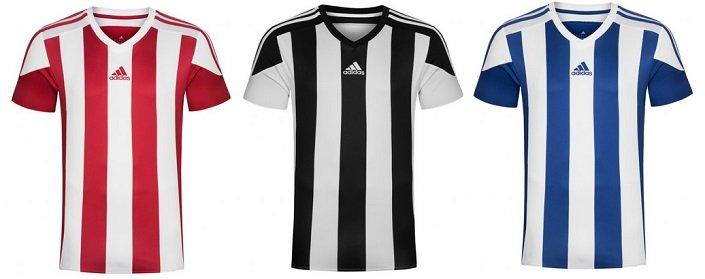 adidas Striped Jersey Herren Trikots für 15,94€ inkl. VSK