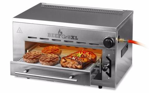 GOURMETmaxx Beef Maker XL (7 Gar-Höhenstufen, 800 °C) für 161,99€ (statt 186€)