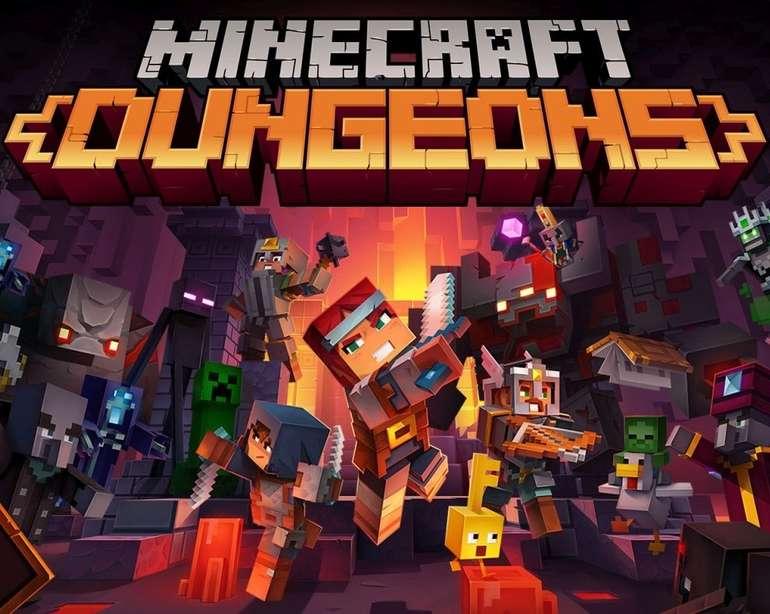 Nintendo Switch Online: Minecraft Dungeons bis zum 24.08. kostenlos spielen
