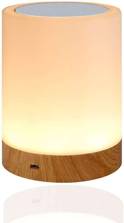 Amouhom dimmbare LED Nachttischlampe für 9,49€ inkl. Prime Versand (statt 19€)