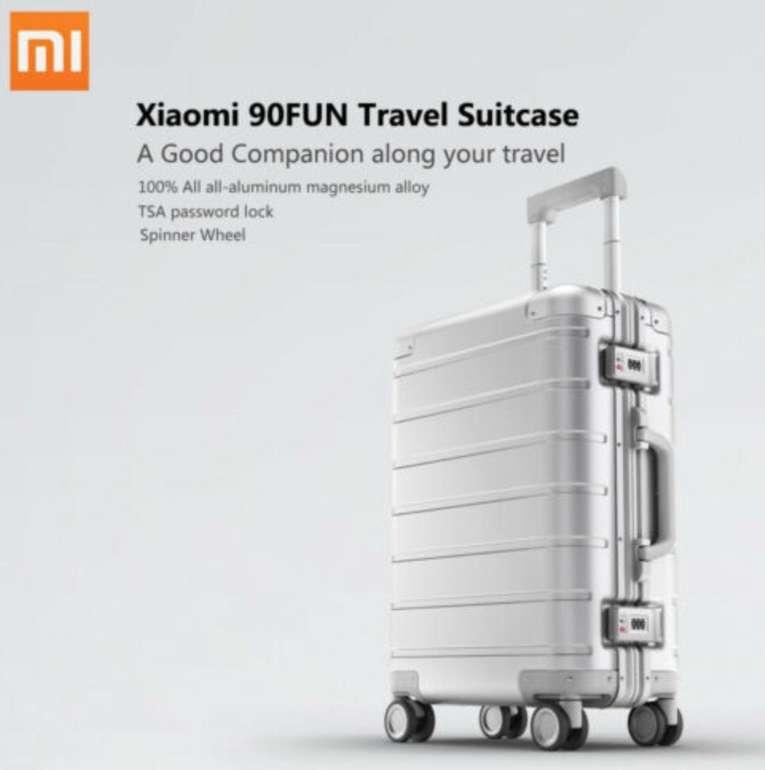Xiaomi Aluminum-Magnesium Koffer mit 4 Ultra-Silent-Rollen für 162,99€ (statt 186€) - NL-Gutschein!