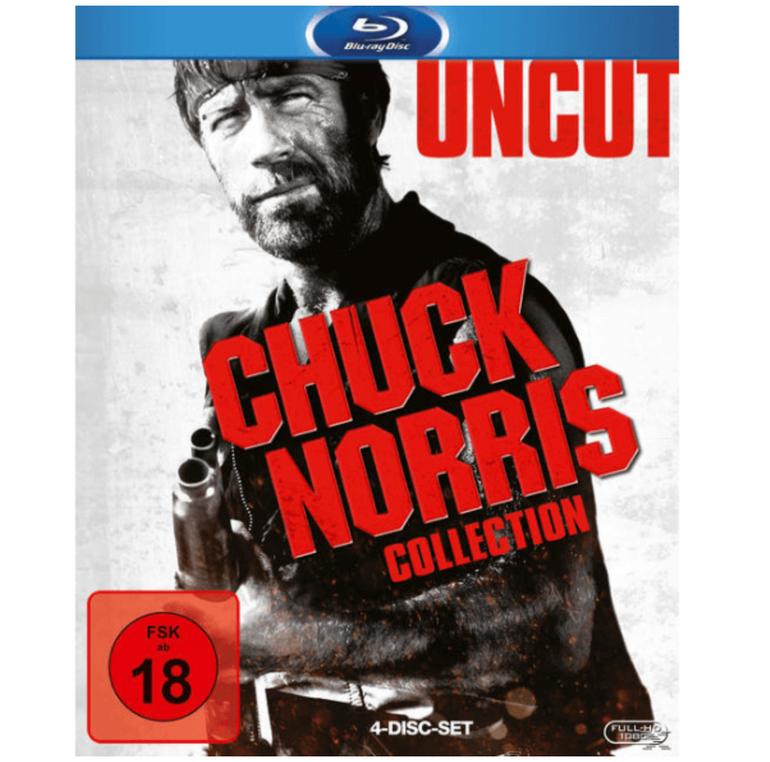 Chuck Norris Collection Blu-ray für 9€ (statt 11€)