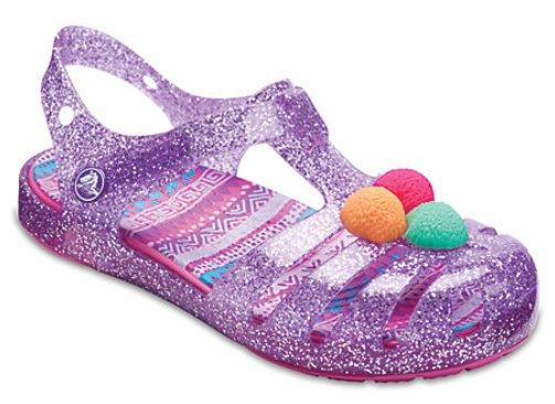 Kids' Crocs Isabella Novelty Mädchen Sandale (Größe 19 bis 31) für 15,75€