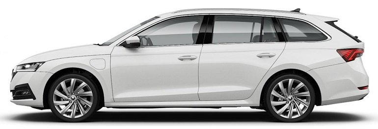 Skoda Octavia Combi Style iV Hybrid in Candy-Weiß