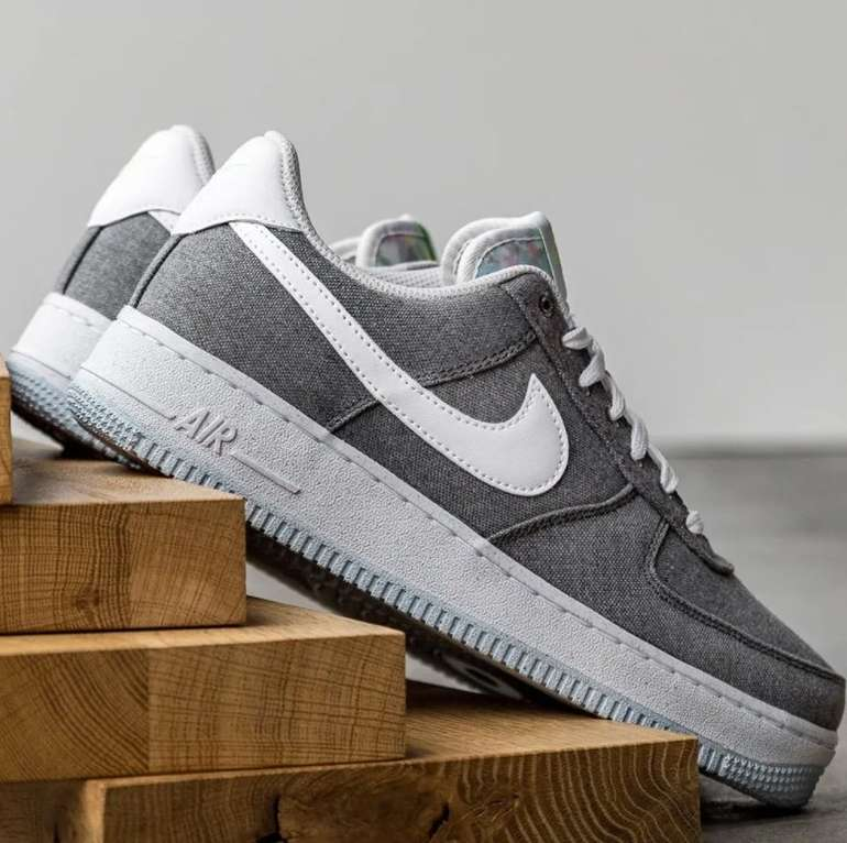"Nike Air Force 1 '07 Herren Sneaker im ""Iron Grey""-Colourway für 89,99€ inkl. Versand (statt 99€)"