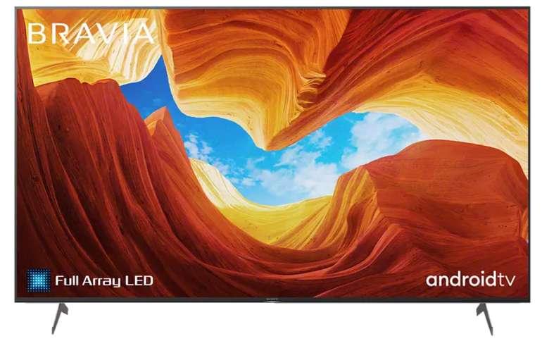 Sony KE-75XH9005 LED TV (Flat, 75 Zoll / 189 cm, UHD 4K, SMART TV, Android TV) für 1.178,90€ inkl. Versand