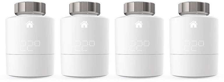 Tado SRT-4 Quattro Pack Heizkörperthermostat für 199,98€ inkl. Versand (statt 240€)