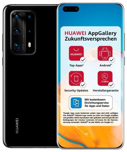 Huawei P40 Pro (47,77€) + Mobilcom green (D1 oder D2-Netz, All-Net Flat, 6GB LTE) je 26,99€ mtl.