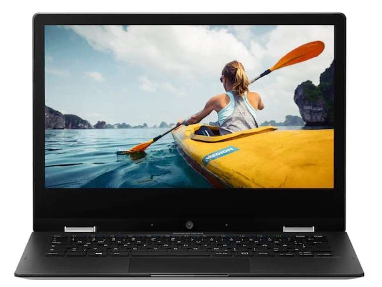 "Medion Akoya E2291 - 11,6"" FHD Touch Notebook (N4000, Wind 10, 64GB Flash, 4GB RAM) für 189,95€"