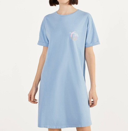 Bershka kurzes Kleid im Acid-Wash-Look für 4,99€ zzgl. Versand