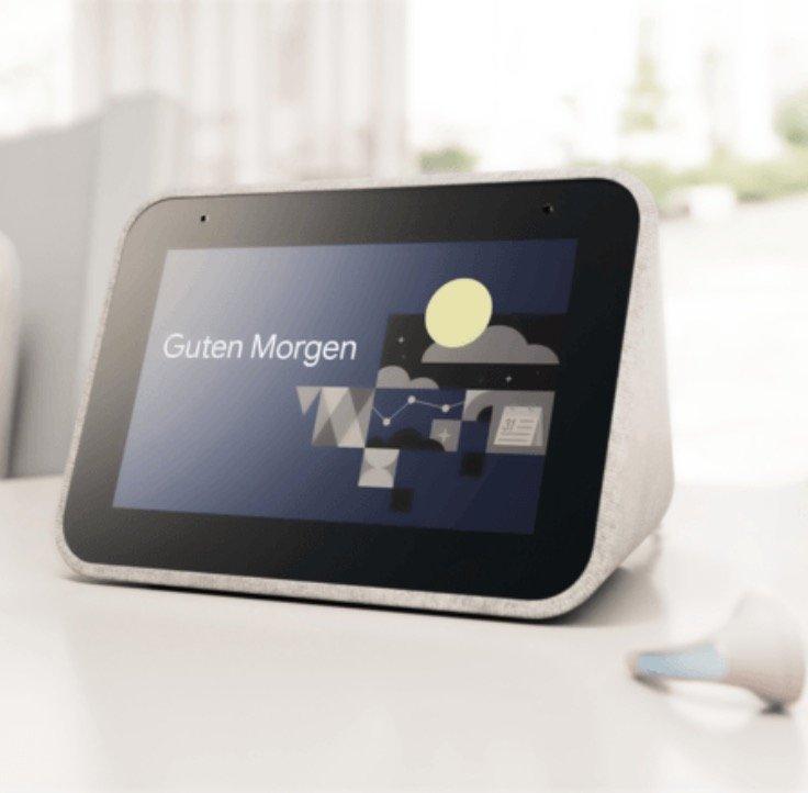 Media Markt Tiefpreis-Couch - z.B. Lenovo Smart Clock Smart Speaker mit Sprachsteuerung für 69€