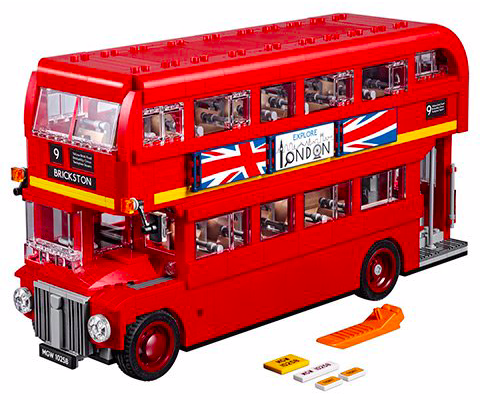 Lego Creator – Londoner Bus (10258) für 78,39€ inkl. Versand (statt 93€)