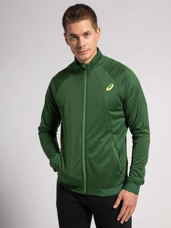 Asics Athlete Track Jacket in grün für 31,84€ inkl. Versand (statt 42€)