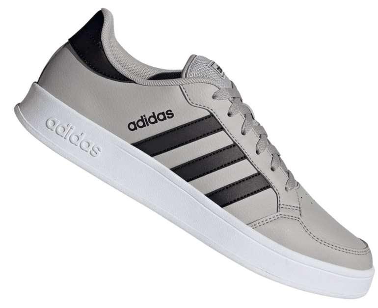 Adidas Freizeitschuh Breaknet in hellgrau/schwarz für 32,95€ inkl. Versand (statt 48€)