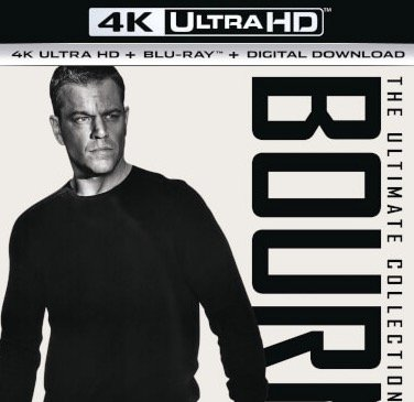 Bourne 4K Collection - 4K Ultra HD (Blu-ray) für 27,99€ inkl. Versand
