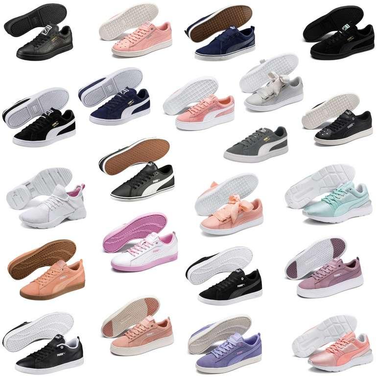 Puma Damen & Herren Schuhe (22 verschiedene Modelle) für je 29,95€