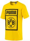 Puma Shoe Tag Borussia Dortmund T-Shirt (Größe: XS - L) für 10€ inkl. Versand