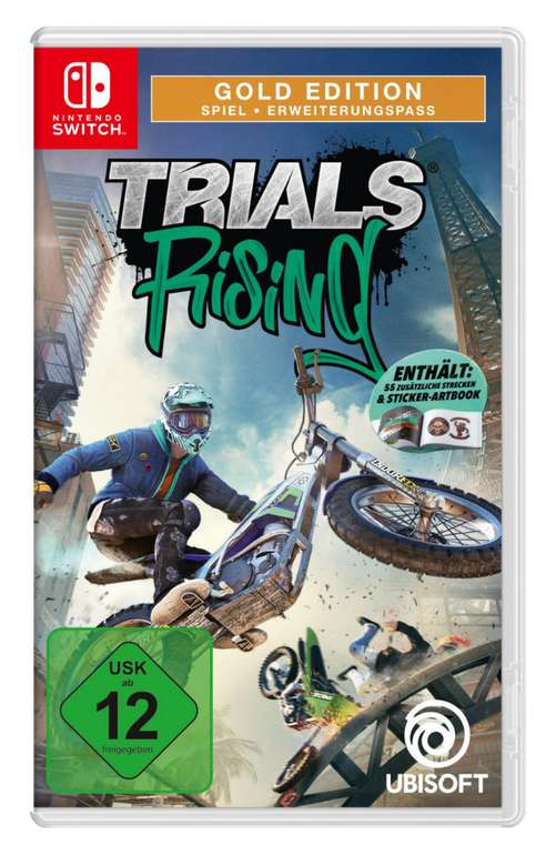 Trials Fusion: The Awesome Max Edition (Nintendo Switch) für 10€ inkl. Versand (statt 21€)