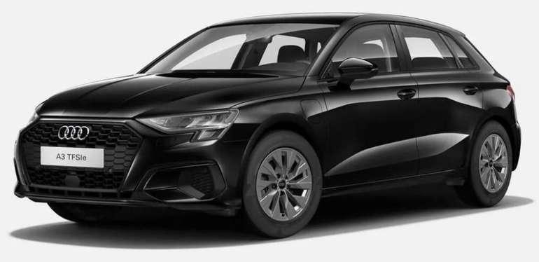 Privat Leasing: Audi A3 Sportback TFSIe mit 204 PS (konfigurierbar) für 138€ mtl. (BAFA, ÜF: 835€, LF: 0,38)