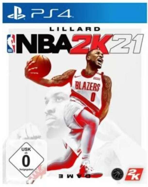 NBA 2K21 (PlayStation 4) für 17,98€ inkl. Versand (statt 21€) - Abholung: 14,99€