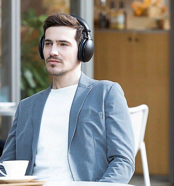 Panasonic RP-HD605NE - Bluetooth Over-Ear High-Resolution Noise-Cancelling-Kopfhörer für 153,99€