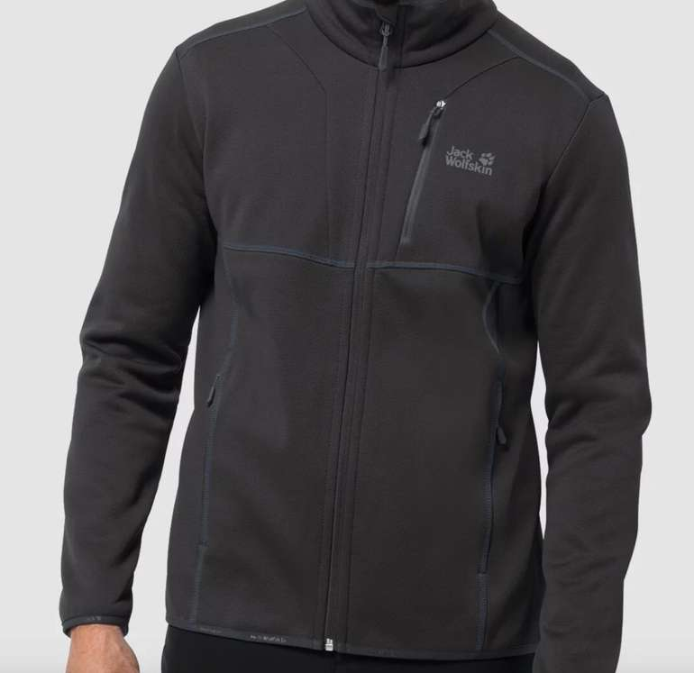 Jack Wolfskin Kiewa Jacket M Herren Fleecejacke für 58,91€ inkl. Versand (statt 72€)