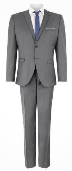 Selected Business-Anzug (Slim Fit, meliert) für 72€ inkl. Versand