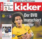 """Miniabo: 13 Wochen """"Kicker"""" für 57,72€ mit 57,72€ Verrechnungsscheck"""