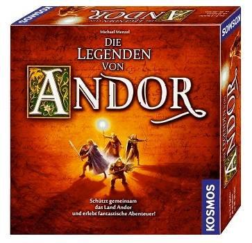 Kosmos Die Legenden von Andor (691745 - Kennerspiel des Jahres 2013) für 21,99€