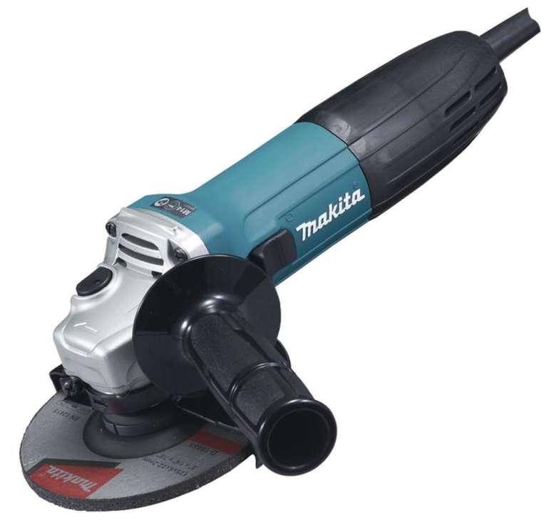 Makita GA5030RSP2 Winkelschleifer (blau-schwarz, 125 mm) für 65,99€ inkl. Versand (statt 99€)