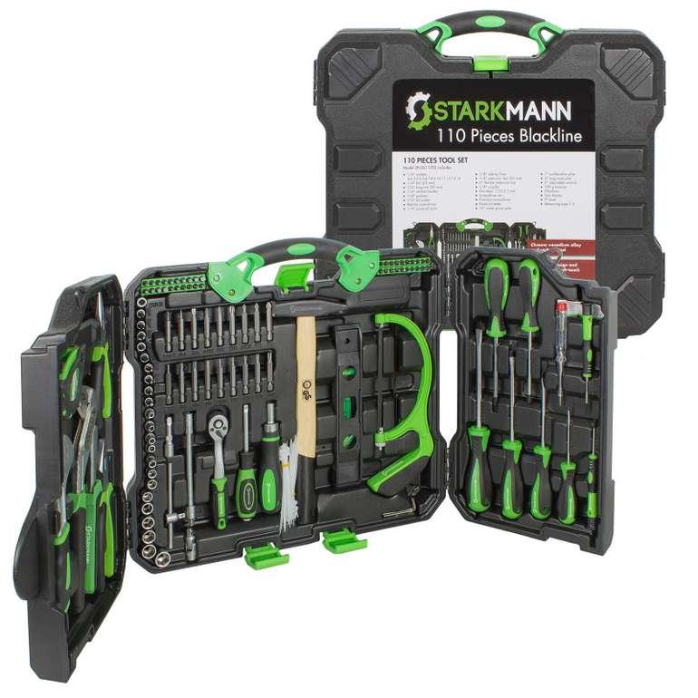 110-tlg. Starkmann Blackline Premium-Werkzeugkoffer für 49,99€ inkl. Versand (statt 65€)
