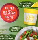 Gratis: Vapiano Unsweetened Ice Tea oder Vapiano Ice Cream zum Hauptgericht