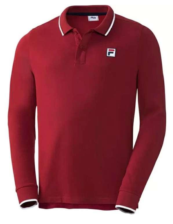 Fila Langarm Herren Poloshirts (versch. Farben) für je 18,75€ inkl. Versand (statt 30€)